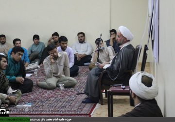 حجت الاسلام والمسلمین شیخ عباس رجبی(کلاس آموزش تقریر نویسی)