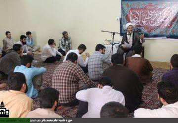 حجت الاسلام والمسلمین مرتضی رجبی(تببین نظام معاونت آموزش)